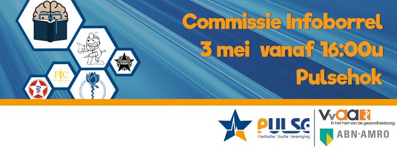 Commissie Infoborrel Banner